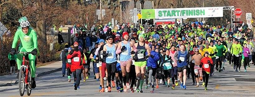 The 2020 Gerald Subaru Sunrise Rotary St. Paddy's Day 5K in downtown Naperville starts at 8 a.m. Saturday, March 14.