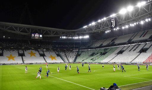juventus beats inter 2 0 in crucial match in empty stadium crucial match in empty stadium
