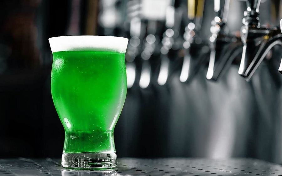 Green beer will be on tap at Yard House on Tuesday, March 17, only.