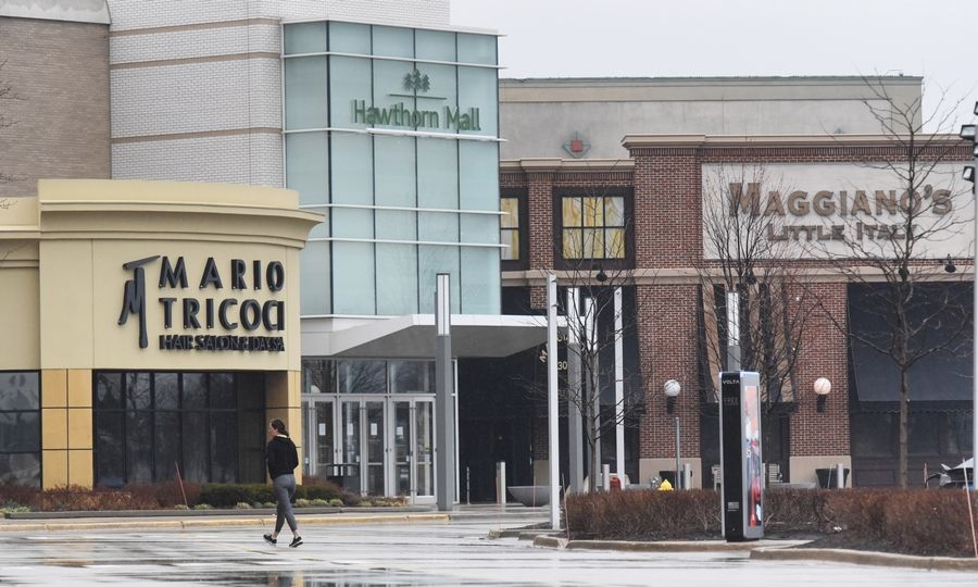 Hawthorn Mall in Vernon Hills is temporarily closing but the groundwork for a proposed $200 million transformation continues.