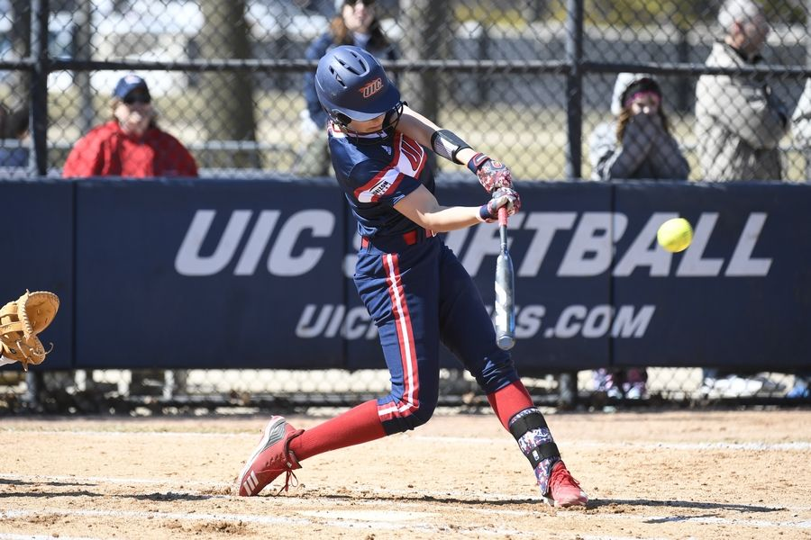 University of Illinois-Chicago softball player Kayla Wedl of Wauconda isn't sure what her future holds after her senior season was ended by the COVID-19 pandemic.