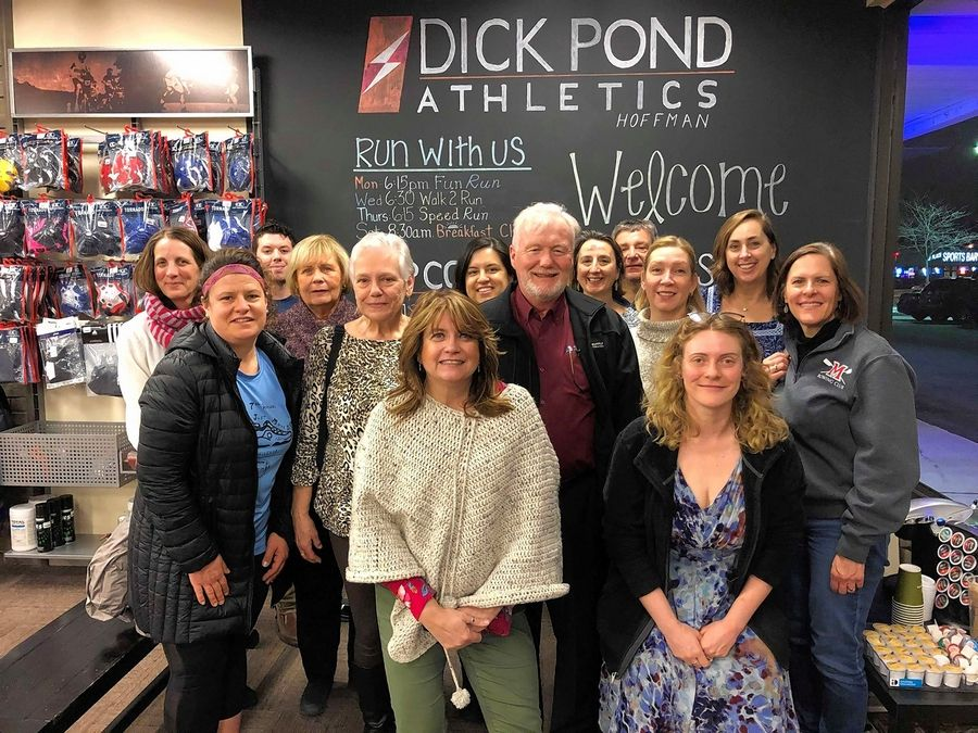 Fittest Loser teams gathered to get an inside look into Ed Poczatek's health journey at Dick Pond Athletics in Hoffman Estates.