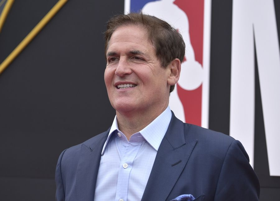 Dallas Mavericks owner Mark Cuban told a Dallas television station he thinks it's conceivable for the NBA to resume play in mid-May. The league suspended games on Mar. 11.
