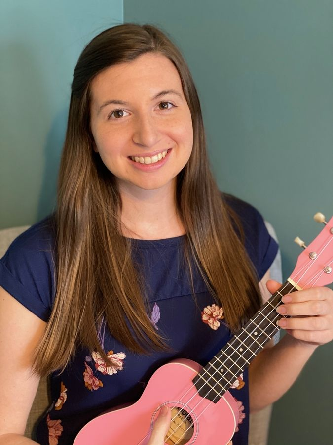 Videos by Stanton School music teacher Emily Armbrecht are being posted over the Fox Lake school's Twitter account, @D114Stanton, to keep students connected during the school's closure due to COVID-19 concerns.