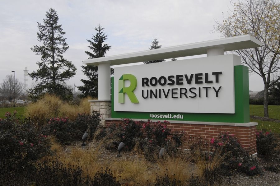 JOE LEWNARD/jlewnard@dailyherald.com, file photoAccording to a memo sent to staff at Roosevelt University's Schaumburg campus Thursday, a student in the College of Pharmacy was diagnosed with COVID-19 that day.