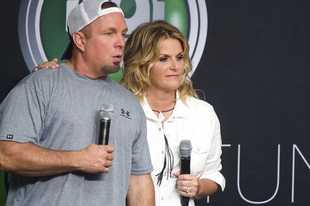 CBS said Sunday, March 29, that it will air a live prime-time special with Garth Brooks and wife Trisha Yearwod performing viewer requests on Wednesday, April 1. The show will be performed at the couple's home studio with a minimal crew.