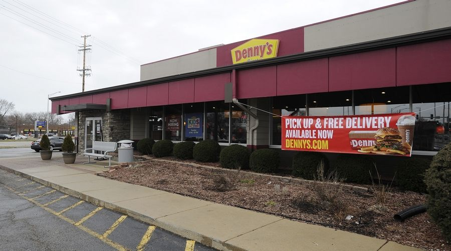 Palatine's Denny's franchise is just one of the thousands of restaurants that is closed to indoor dining and limited to carry out or delivery only, which will significantly reduce the amount of sales tax generated for the village.