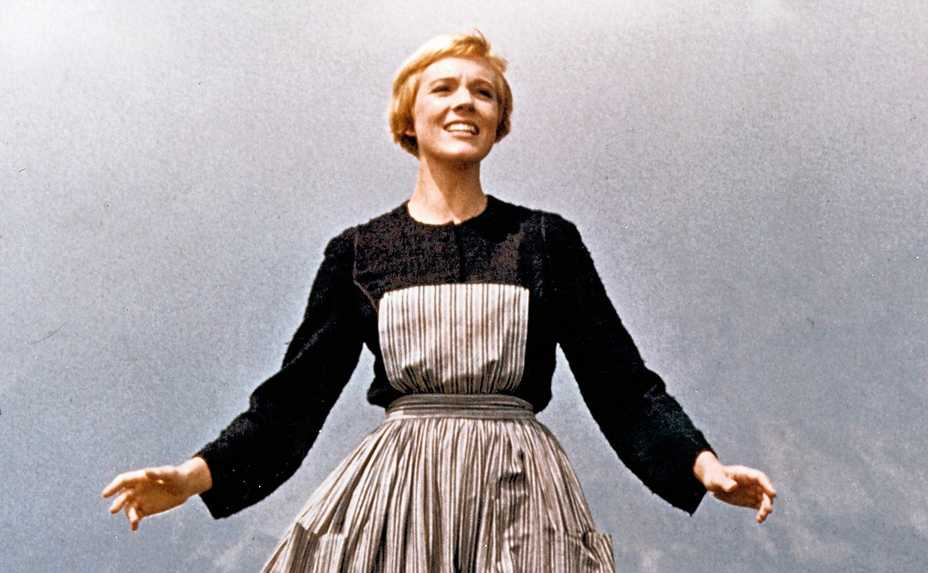 "Julie Andrews stars in the beloved musical ""The Sound of Music."""