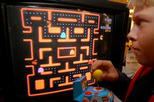 "You don't need one of those plug-and-play things from the store to relive your ""Ms. Pac-Man"" memories; if you have a PS4 or an Xbox One, you can download it straight to your system from home."