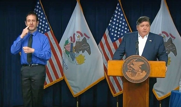 Gov. J.B. Pritzker provides an update on the state's ongoing battle against the spread of the coronavirus.