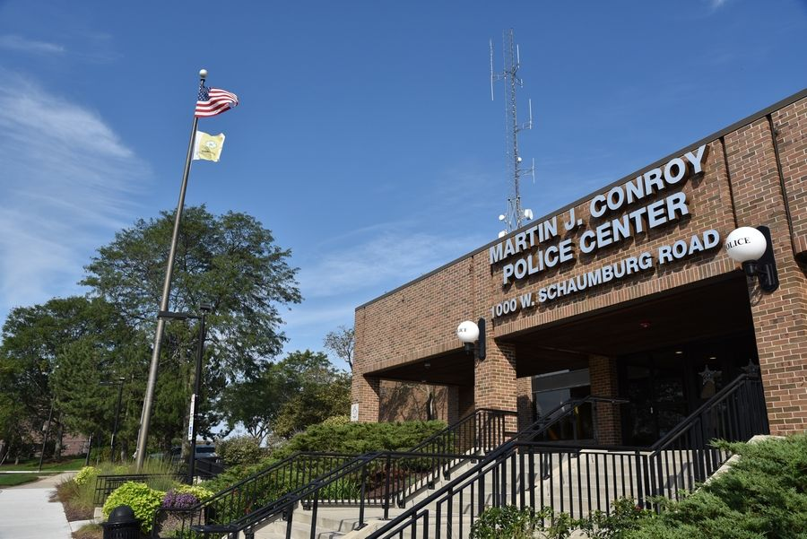 The Schaumburg Police Department and their colleagues across the suburbs have seen calls for service drop, in some places substantially, since the state's stay-at-home order went into effect last month. The one troubling exception is for cases involving domestic violence, police say.