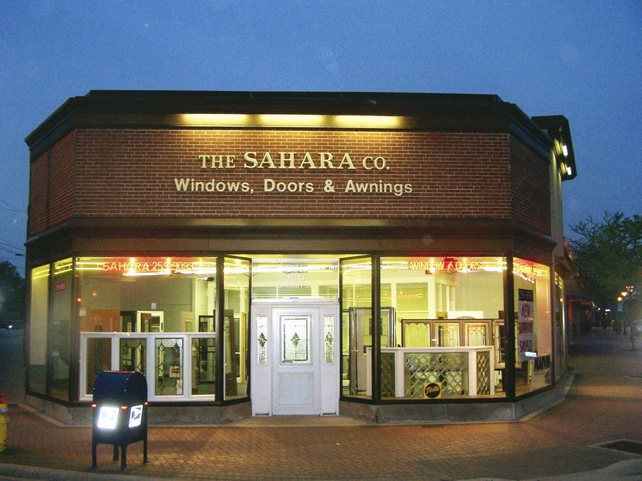 Sahara Window and Doors is located at 150 S. Main St. in Mount Prospect