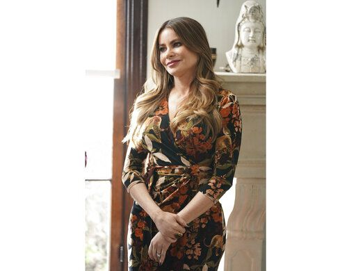 "This image released by ABC shows Sofia Vergara in a scene from the series finale of ""Modern Family."" The popular comedy series ends its 11-season run with a two-hour finale on Wednesday. (Eric McCandless/ABC via AP)"