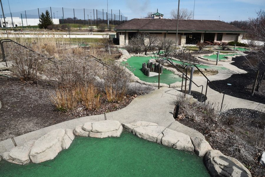A gas station is an eventual possibility for the northeast corner of Route 45 and Peterson Road in Libertyville. This part of the Libertyville Sports Complex property has been leased for several years to Aloha Falls mini golf.