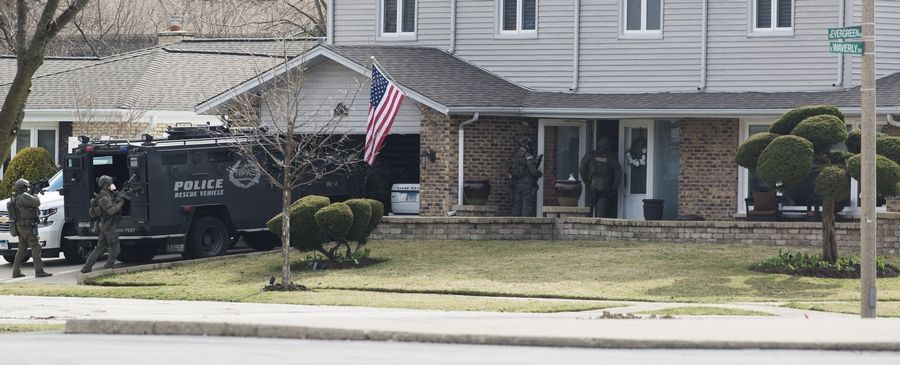 "The Arlington Heights homeowner whose family was targeted in a home invasion last Saturday thanked the community and police for their outpouring of support. In a lengthy Facebook post, Sebastian Maniscalco also wrote, ""There are no words to be found to appropriately define the ongoing aftermath of this event for our family."""