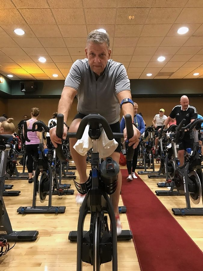 Glen Wagner of Bolingbrook, a pastor at Good Shepherd Lutheran Church in Naperville, was back in the gym cycling, running and swimming six weeks after he had knee-replacement surgery last October. He said the techniques he used to recover from the surgery without any pain medications are helping him cope with the stress and uncertainty of the COVID-19 pandemic.