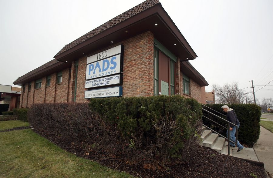 The Lake County Board has set aside $100,000 to reimburse agencies that find shelter for homeless people, such as PADS Lake County.