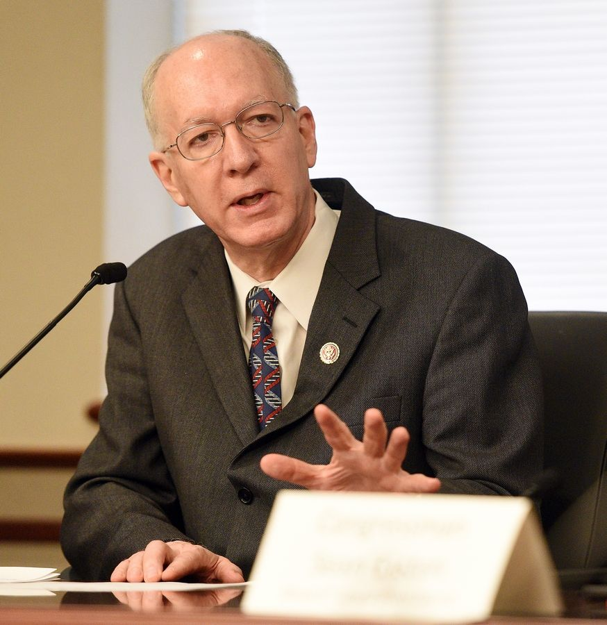 U.S. Rep. Bill Foster of Naperville says states with populations over 3.5 million are getting $390 per person while smaller states favored by the Senate are receiving up to $2,100 per person.