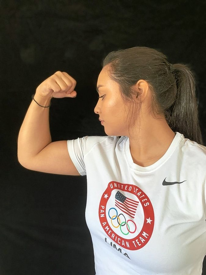 PHOTO BY NEFELI PAPADAKISWarren graduate Nefeli Papadakis was in position to earn a spot on the USA judo team that was to compete in the 2020 Olympics before the Games were canceled due to the COVID-19 pandemic.