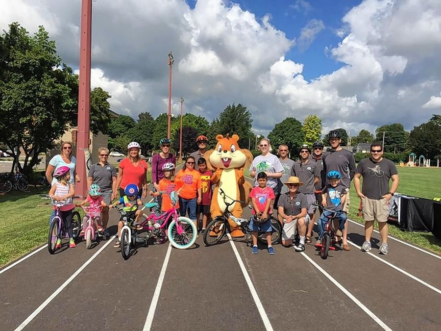 Bike Palatine Club conducts a safety rodeo for children ages 4-10 in June 2017.
