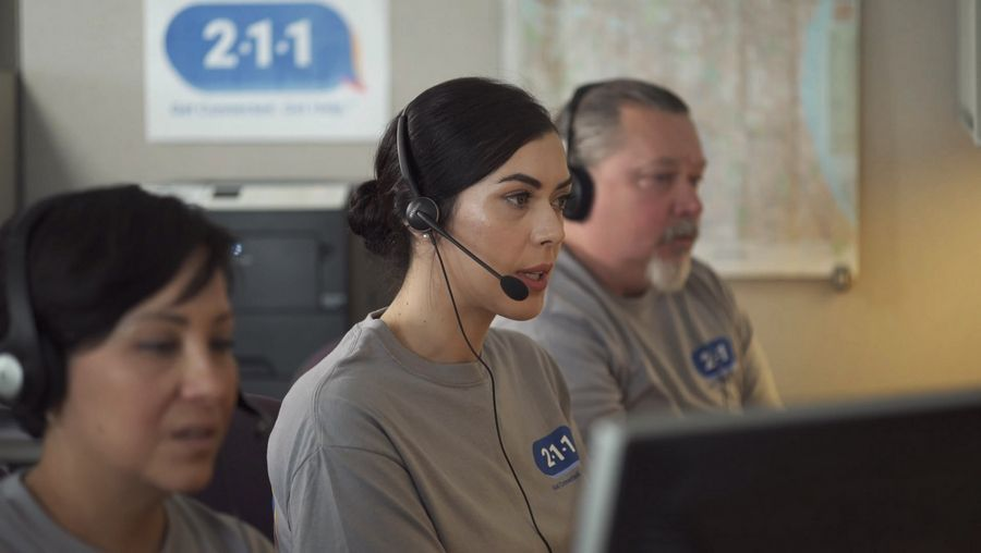 Members of United Way of Lake County's 211 contact center in Gurnee will now help connect volunteers with organizations during the pandemic.
