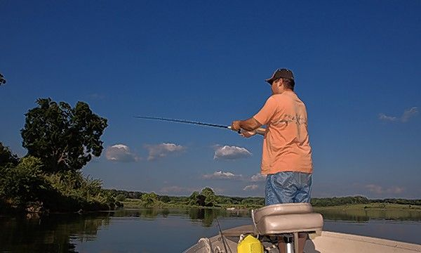 Located west of Chicago off U.S. 30, Shabbona Lake State Park is home to a 318-acre, man-made fishing lake. It is among the state parks that reopened this weekend for limited activities.
