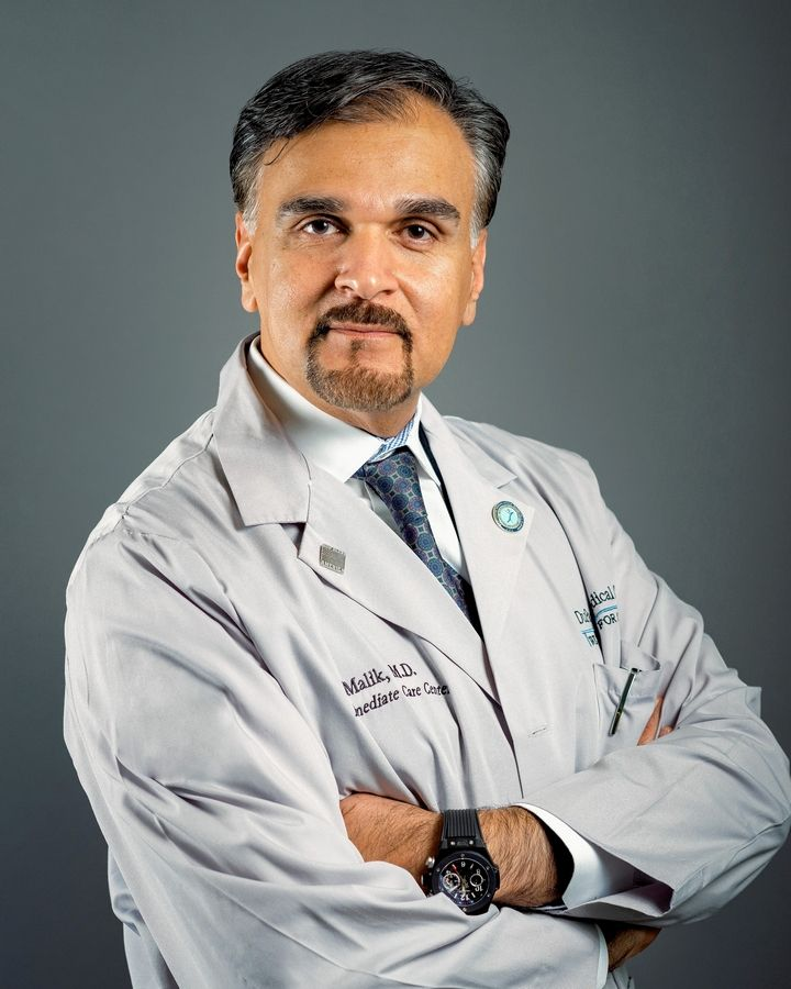 Dr. Kaleem Malik of Burr Ridge was named the 2020 disaster services hero by the Red Cross of Chicago and Northern Illinois. He has served in Chicago-area emergency rooms for his entire career, goes on medical mission trips to developing countries and responds to disasters worldwide.