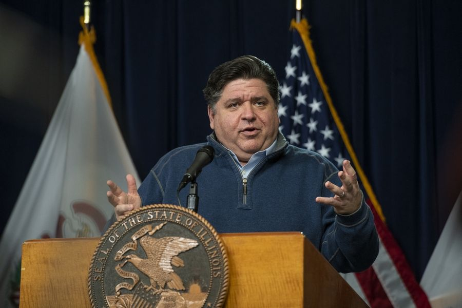 Illinois Gov. J.B. Pritzker announced 63 additional COVID-19 deaths in the state Sunday and 2,994 additional cases.