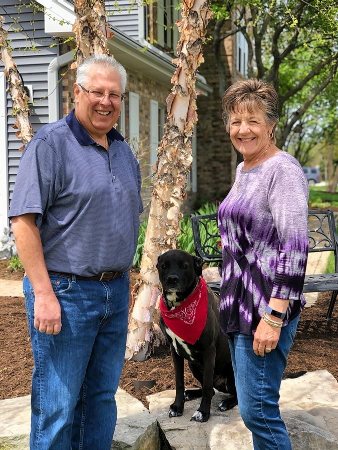 Debi Quagliano, wife of our Fittest Loser insider, has also adopted a healthier lifestyle, losing nearly 30 pounds. The couple likes to walk with their dog, Rocky.