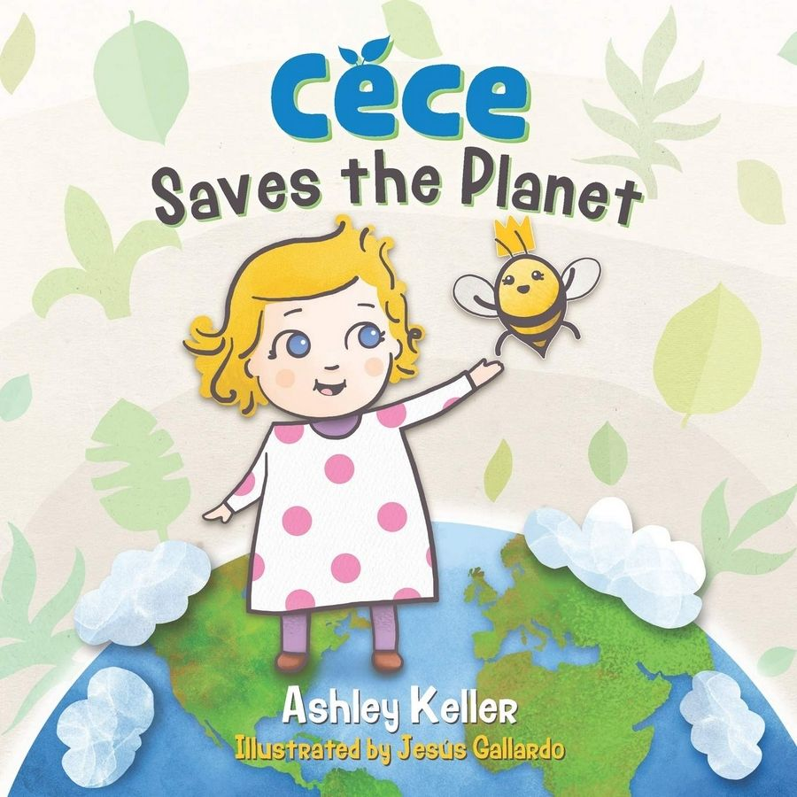 "Front cover of ""Cece Saves the Planet"""
