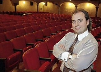 Ron Onesti took over the Arcada Theater in St. Charles 15 years ago this week.