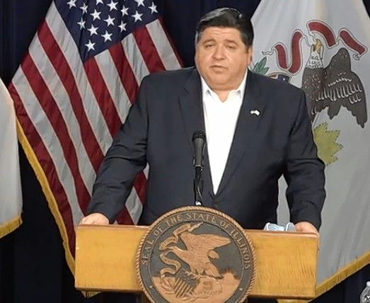 Illinois Gov. J.B. Pritzker gives one of his daily updates on the coronavirus outbreak.