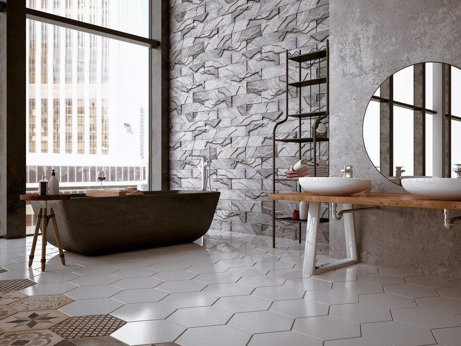 Tile provides a clean and attractive appearance, with prices varying from $6 to $15 per square foot installed.
