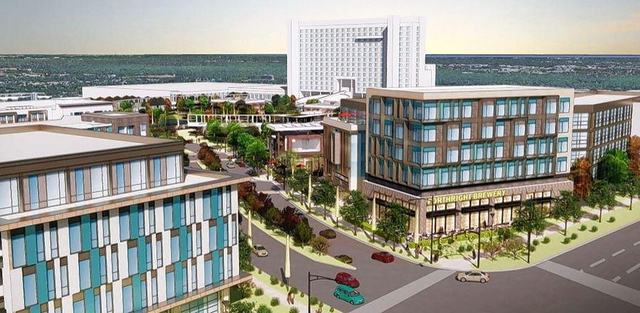 Oak Brook-based Kensington Development Partners' proposal for an entertainment district on the east side of Meacham Road in Schaumburg appears to be the village's preferred choice.