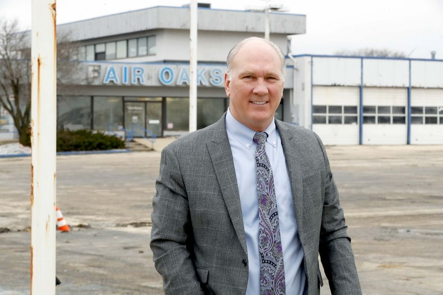 Naperville Mayor Steve Chirico said a developer is working with a national grocer to bring a new grocery concept to the site of the former Fair Oaks Ford dealership along East Ogden Avenue.