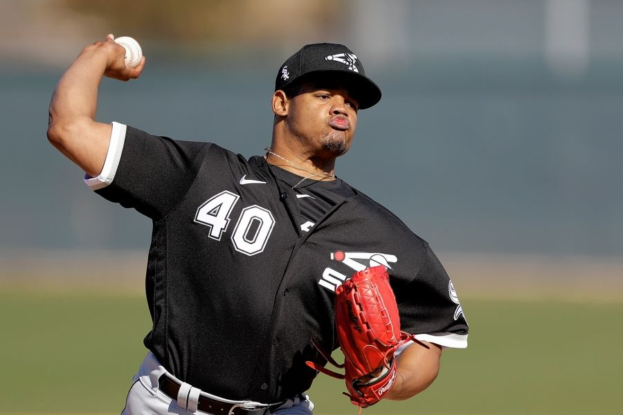 "After a solid debut for the White Sox in 2018, starting pitcher Reynaldo Lopez had a forgettable season last year. Lopez blamed the poor showing on ""bad thoughts,"" and is hoping he gets the chance to redeem himself this year."