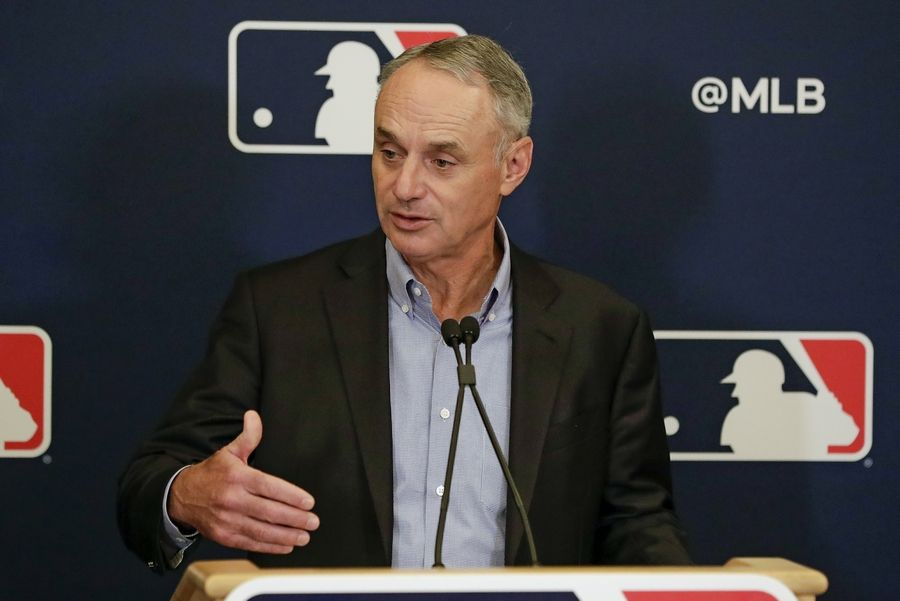 "On CNN last week, MLB commissioner Rob Manfred said collective losses for MLB owners ""could approach $4 billion"" if games are not played this season."