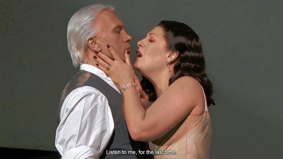 "Former St. Charles resident Sondra Radvanovsky stars as Amelia opposite the late Dmitri Hvorostovsky as Renato in Verdi's ""Un Ballo in Maschera"" (""The Masked Ball"") at The Metropolitan Opera. The 2012 production is screened for free online for one day starting at 6 p.m. Wednesday, May 20."