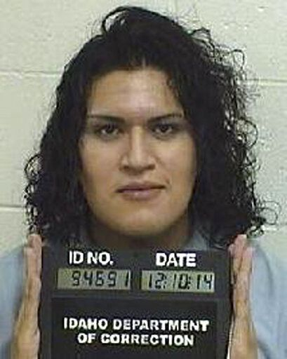 FILE - This Dec. 10, 2014, file photo provided by the Idaho Department of Correction shows Adree Edmo. The U.S. Supreme Court won't put  the gender confirmation surgery on hold for Edmo, an Idaho transgender inmate, while a lawsuit over the procedure moves forward. The order on Thursday, May 21, 2020, means Edmo can continue getting pre-surgical treatments and potentially even gender confirmation surgery this year while Idaho officials wait to hear if the high court will consider their appeal. (Idaho Department of Correction via AP, File)