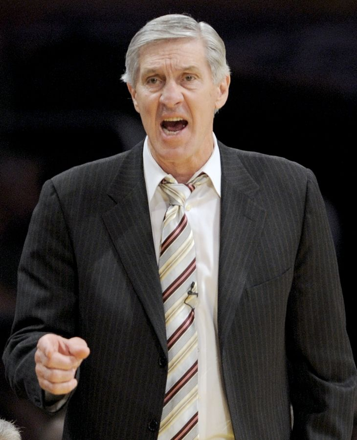 Associated PressUtah Jazz coach and former Chicago Bulls' great Jerry Sloan reacts to action against the Los Angeles Lakers during a 2008 playoff series. Sloan died Friday morning after a long battle with Parkinson's disease. He was 78.