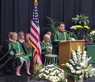 Jack Aiello of Arlington Heights went viral in 2016 after performing impersonations of presidential candidates during his graduation speech at Thomas Middle School. Videos of the speech have garnered about 4.8 million views.