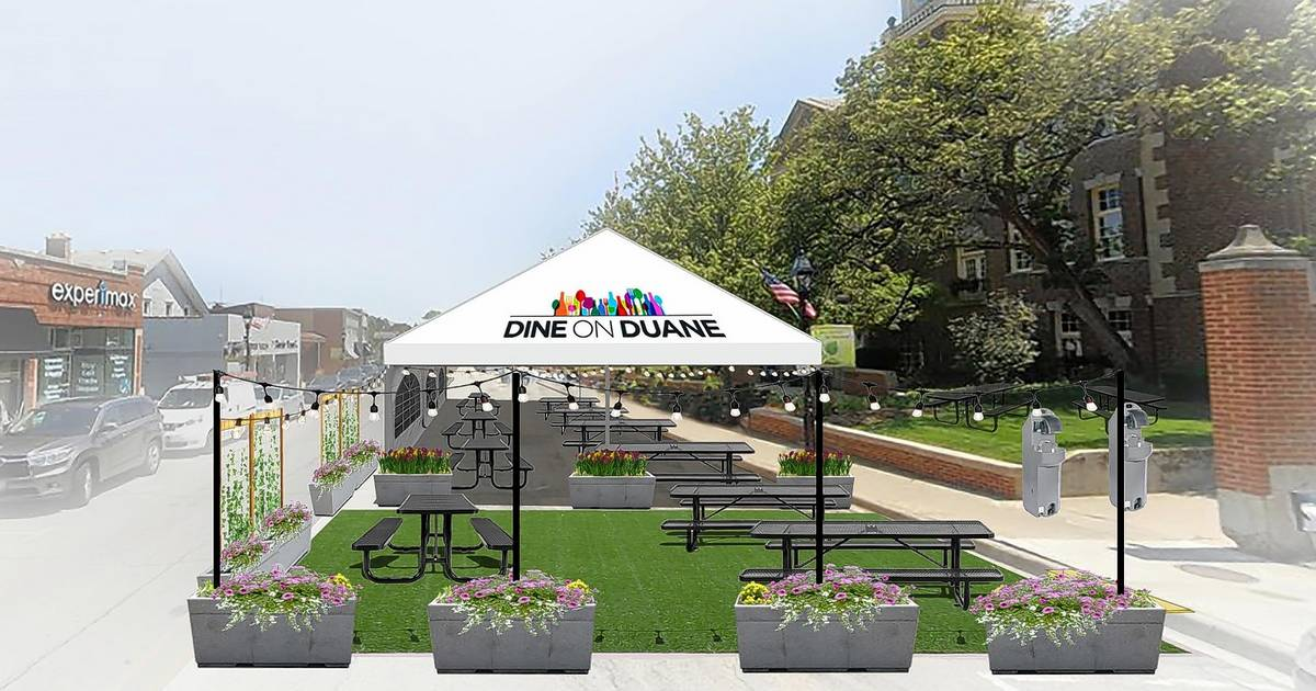 Glen Ellyn creating `pocket parks` for outdoor dining