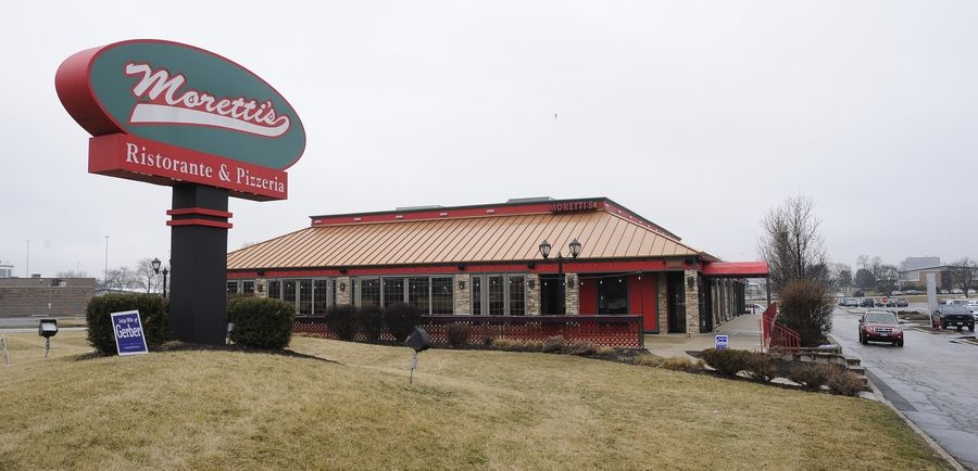 Moretti's Ristorante and Pizzeria in Schaumburg plans to reopen with outdoor dining Friday. Fred Hoffmann, founder of Moretti's parent company Ala Carte Entertainment, says it's time for people to socialize again.