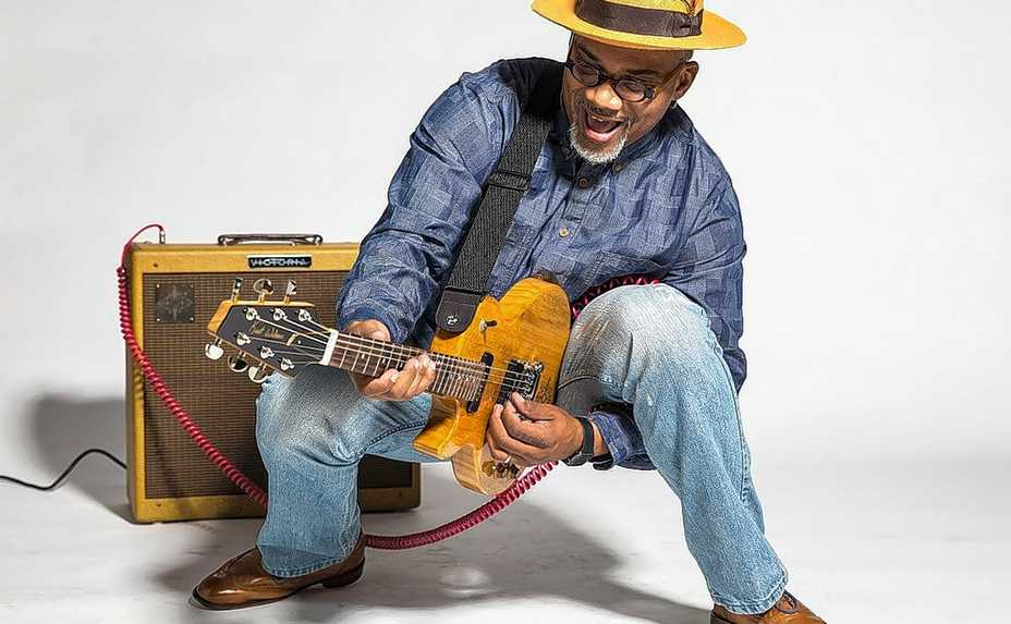 Bluesman Toronzo Cannon plays a rescheduled FitzGerald's Stay-At-Home concert this weekend.