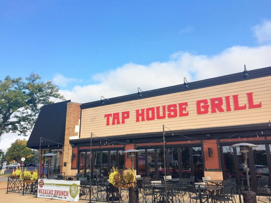 This is the Tap House Grill in downtown Palatine. Palatine establishments will be allowed to have alfresco service for seated guests from 7 a.m. to 10 p.m. Sunday through Thursday and 7 a.m. to midnight Friday and Saturday.