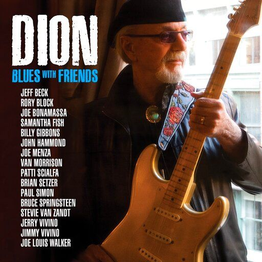 "This cover image released by Keeping The Blues Alive Records shows ""Blues With Friends,"" the latest release by Dion. (Keeping The Blues Alive Records via AP)"