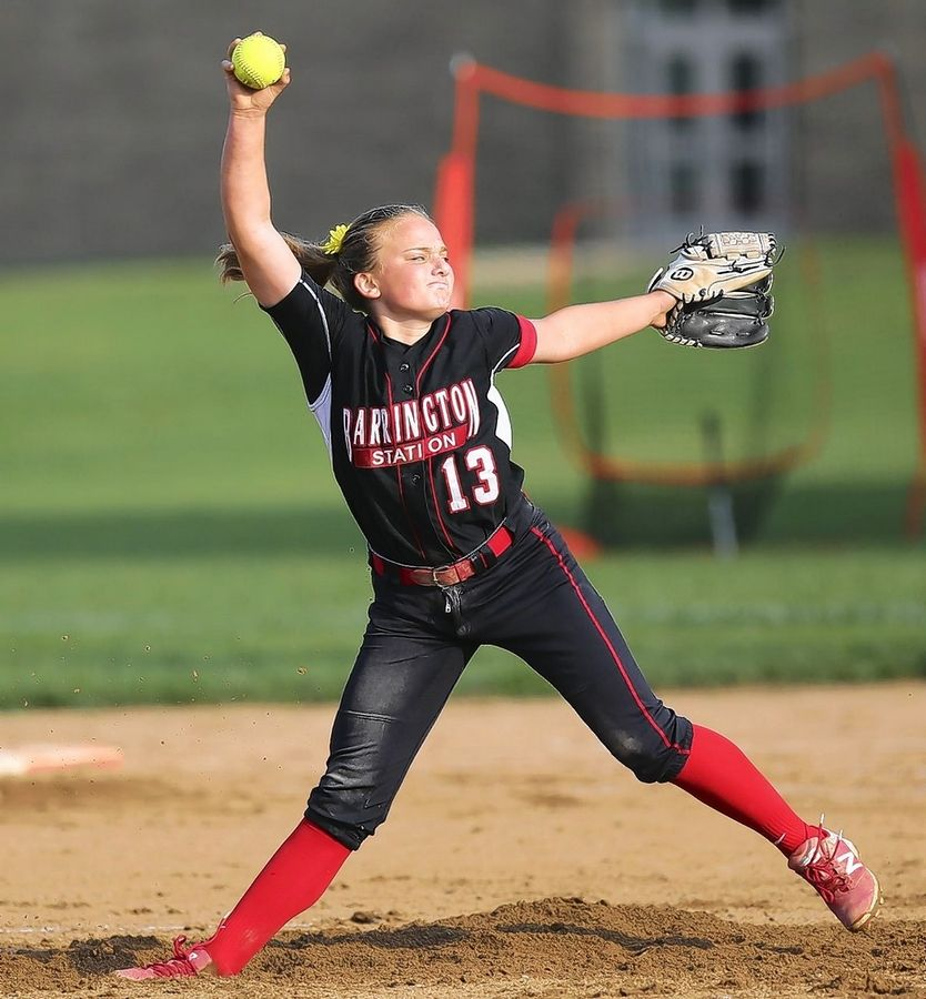 COURTESY OF FILLIES PHOTOSBarrington freshman Allie Goodwin wasn't able to perform for the Fillies' softball team this spring due to the COVID-19 pandemic.