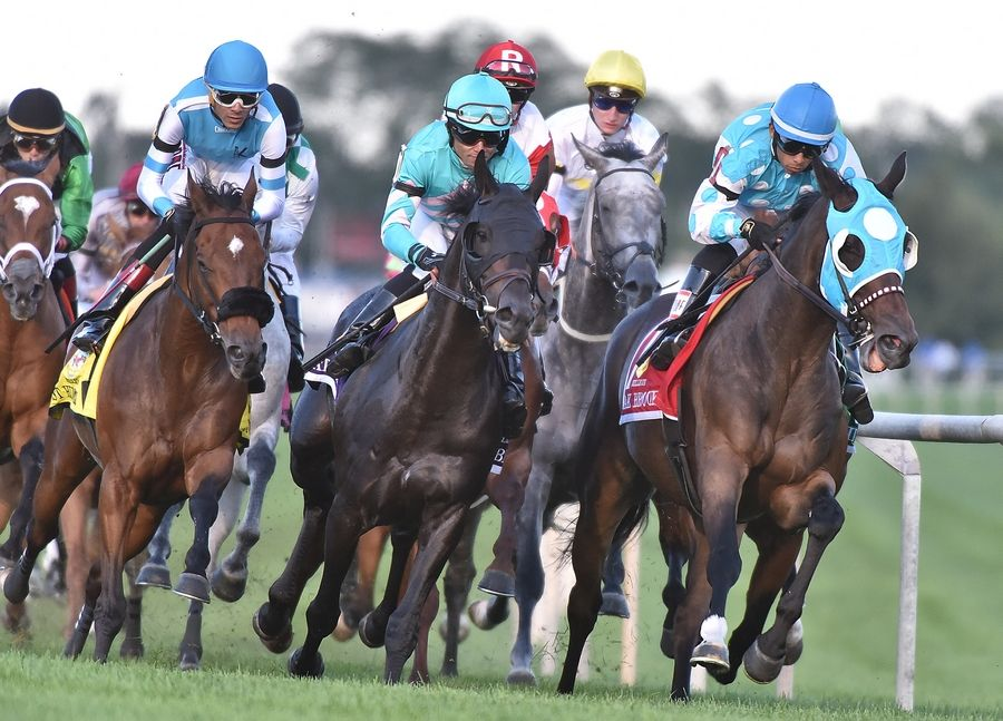 While Arlington Park's president says the track now is willing to race without fans, members of a state agency delayed a vote to grant meet dates for this year as the oval works to reach a collective bargaining agreement with a horsemen's association.