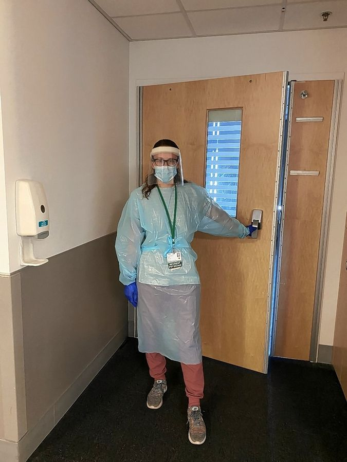 Caring for many COVID-19 patients during her residency at Rush University Medical Center, Buffalo Grove native Dr. Lauren Singer has seen the virus devastate the lives of many families.