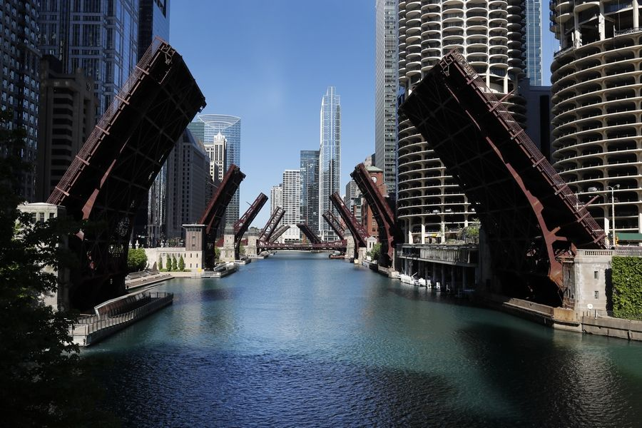 Expect the unexpected, experts say, as Chicago has been raising bridges and closing streets to prevent violence. Peaceful protests over the death of George Floyd also have caused closures in the suburbs.